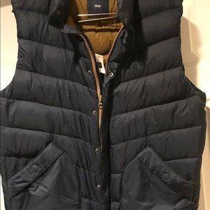 NWT, Gap Men's Navy Puffer Vest, Size XL